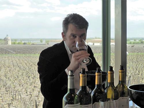 Nicolas Glumineau, manager of Pichon Comtesse