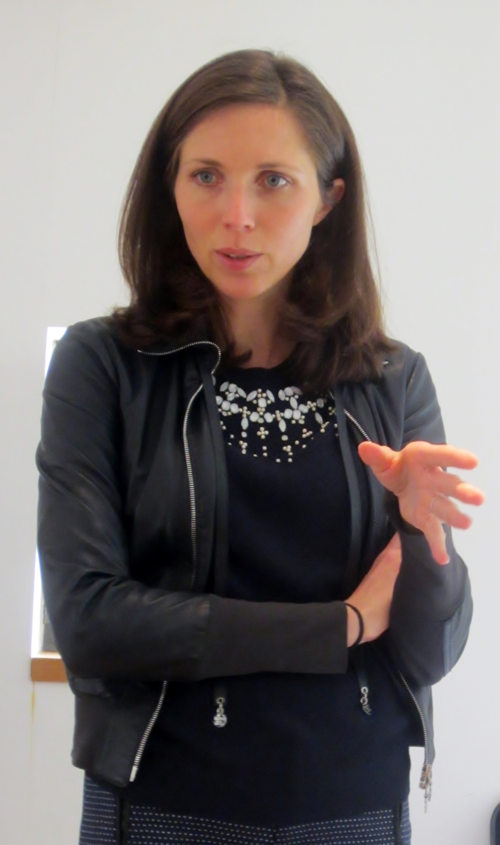 Caroline Frey - manager of La Lagune since 2004