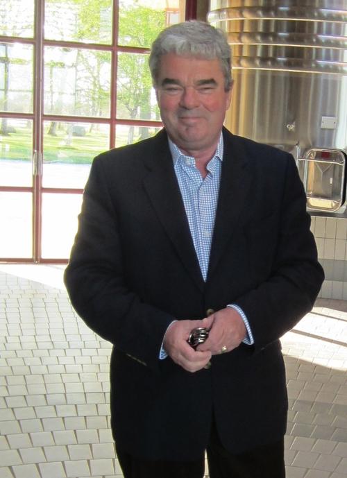 Olivier Bernard, owner of Domaine de Chevalier